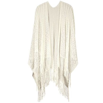 Britts Knit Open Weave Wrap-367927