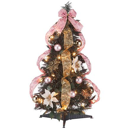 2' Victorian Style Pull-Up Tree by Holiday Peak™-367931