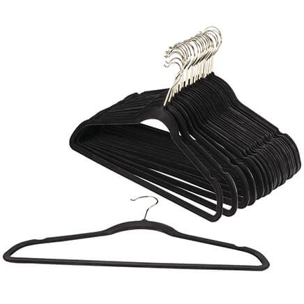 Slim Velvet Hangers, Pack of 25-368004