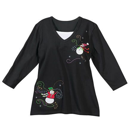 Snowman Top with Modesty Panel by Sawyer Creek-368019