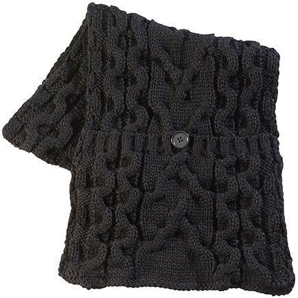 Knit Pocket Scarf-368076
