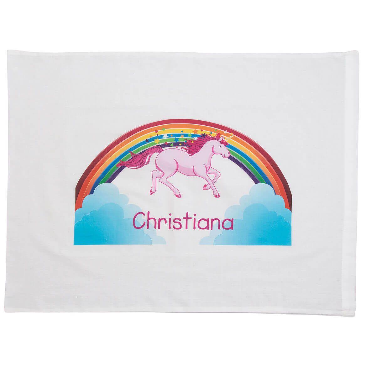 Personalized Unicorn Pillowcase-368077