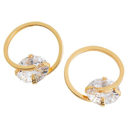 CZ Dazzler Earrings-368104