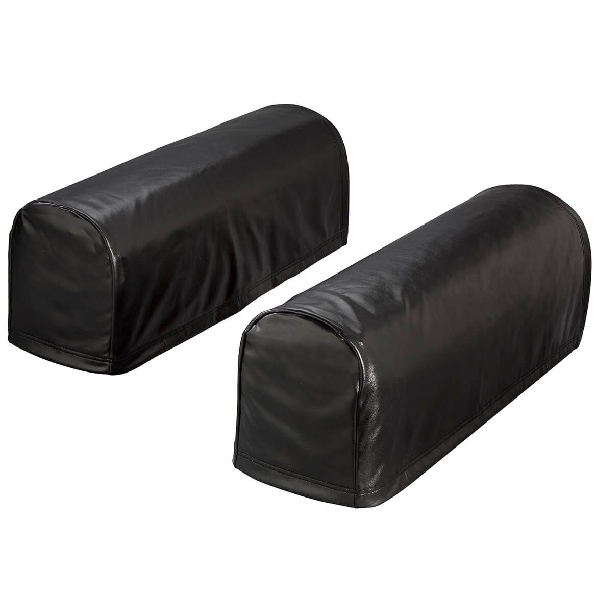 Faux Leather Arm Rest Covers, Set of 2-368113