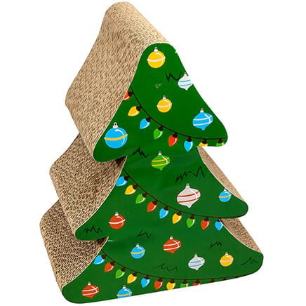 Christmas Tree Cat Scratcher-368138