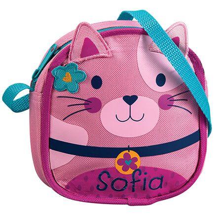Personalized Stephen Joseph® Crossbody Cat Purse-368152