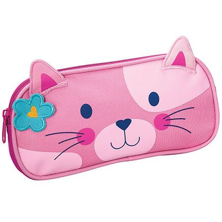 Personalized Stephen Joseph® Cat Pencil Pouch-368158