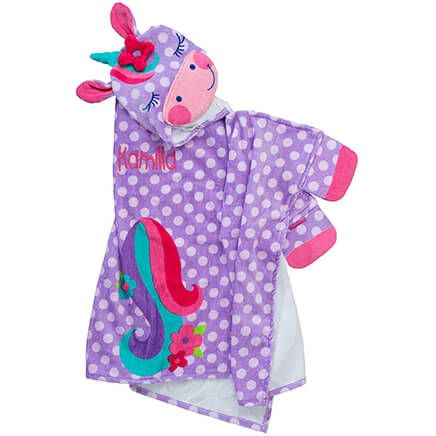Personalized Stephen Joseph® Hooded Unicorn Towel-368170