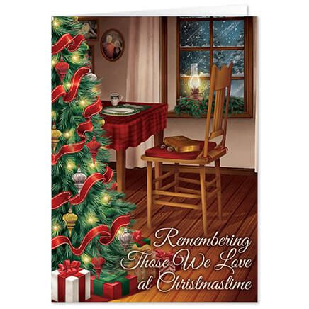 Personalized The Empty Chair Christmas Card Set of 20-368222