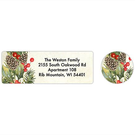 Personalized Faith, Family, Friends Labels & Seals 20-368283