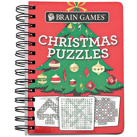 Brain® Games Christmas Puzzles Book-368340