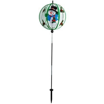 Snowman Garden Wind Spinner-368342