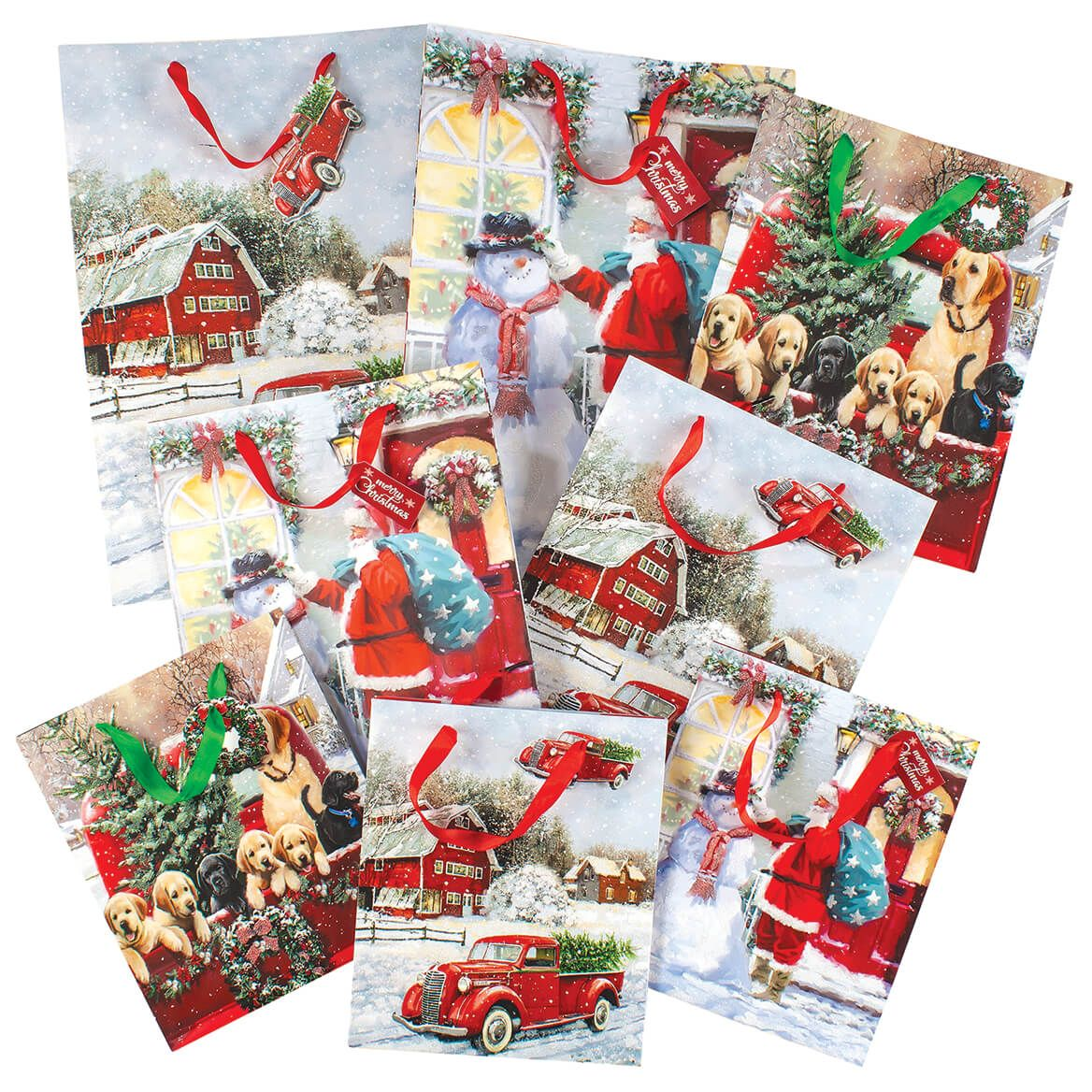 Home for the Holidays Gift Bag set of 8-368348