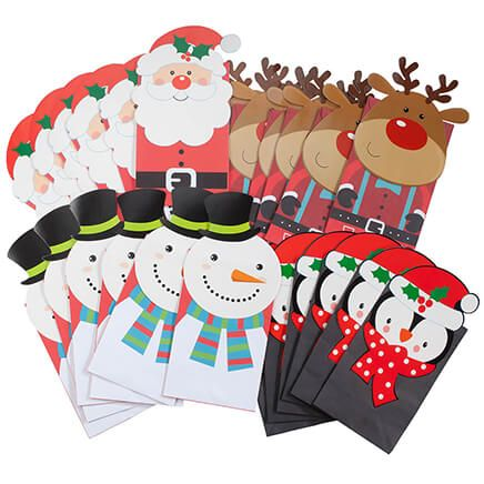 Holiday Die Cut Gift Sacks-368349