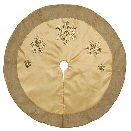 Silver & Gold Tree Skirt by Holiday Peak™-368369