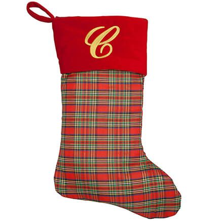 Personalized Plaid Stocking by Holiday Peak™-368389