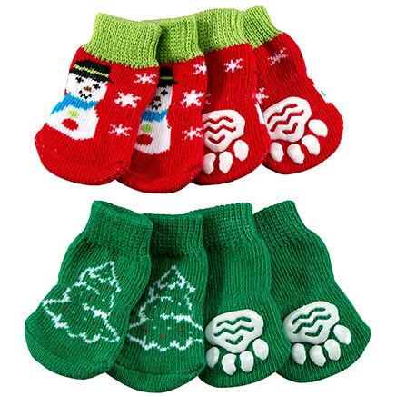 Christmas Dog Socks, Set of 2-368422