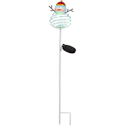 Solar Snowman Stake by Fox River™ Creations-368423