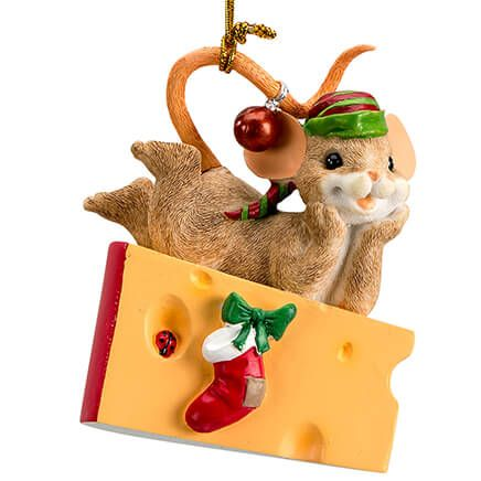 Charming Tails® Waiting Up for Santa-368430