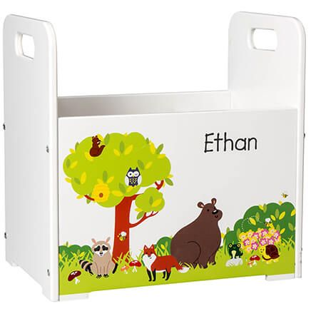 Personalized Woodland Animals Book Caddy-368440
