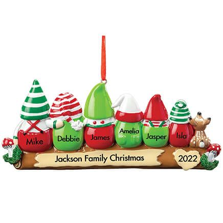 Personalized Gnome Family Ornament-368538