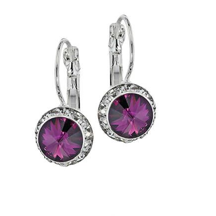 Swarovski Crystal Birthstone Wire Earrings-368594