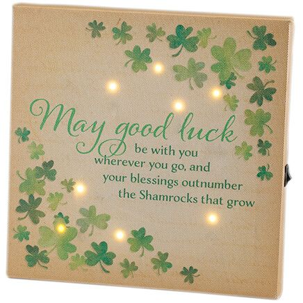 Mini Irish Prayer Canvas by Holiday Peak™-368719