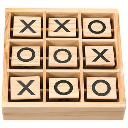 Wooden Tic Tac Toe Game-368741