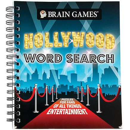 Brain Games® Hollywood Word Search-368749