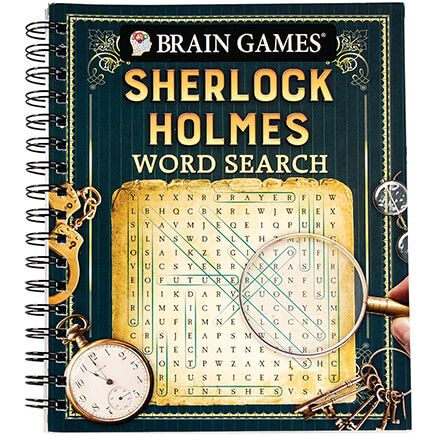 Brain Games® Sherlock Holmes Word Search-368750