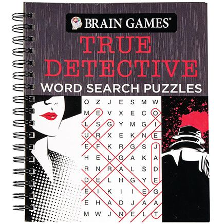 Brain Games® True Detective Word Search-368751