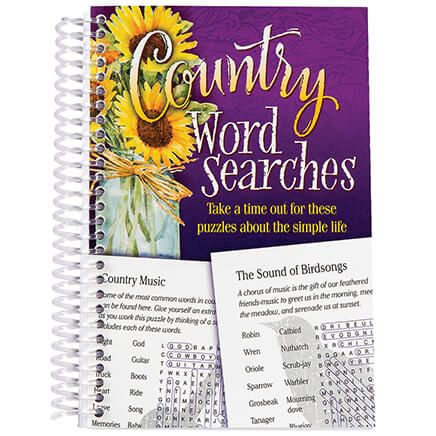 Country Word Searches Book-368759