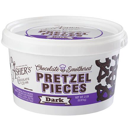 Asher's® Chocolate Smothered Pretzel Pieces-368794