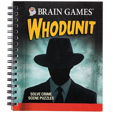 Brain Games® Whodunit Puzzle Book-368868