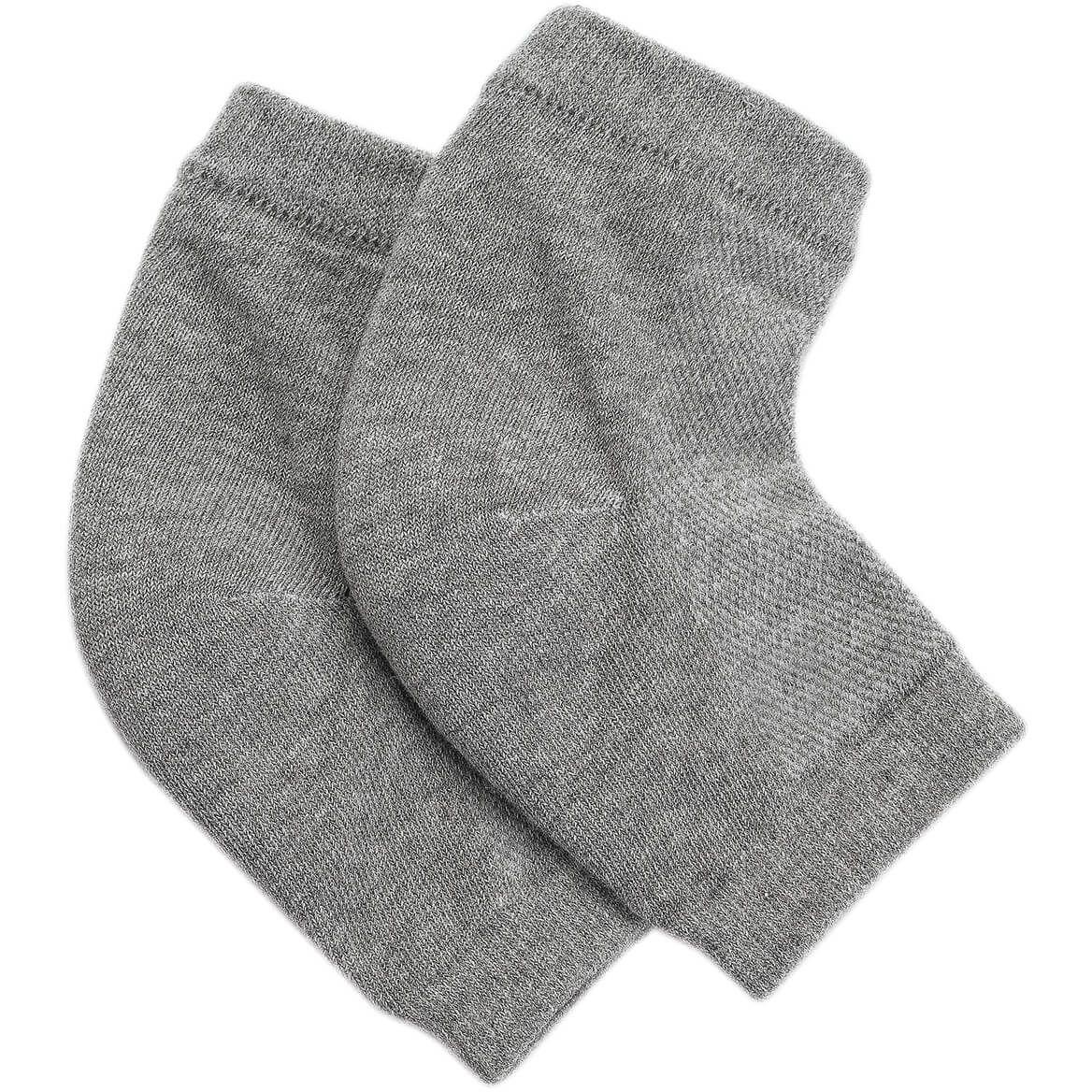 Silver Steps™ Gel Heel Socks-368877