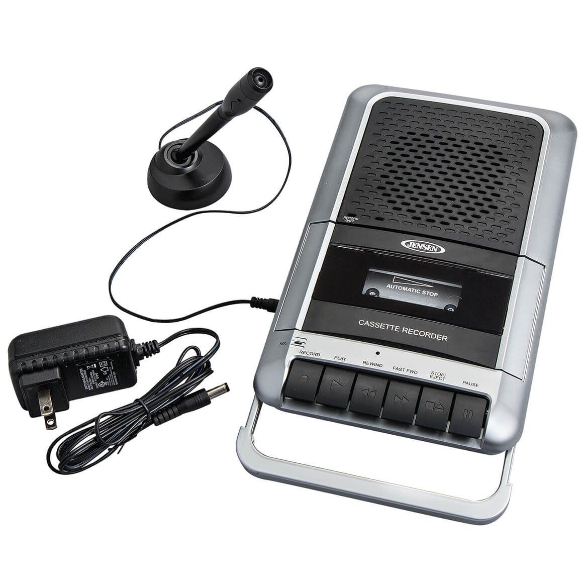 Jensen® Portable Cassette Player & Recorder-368886