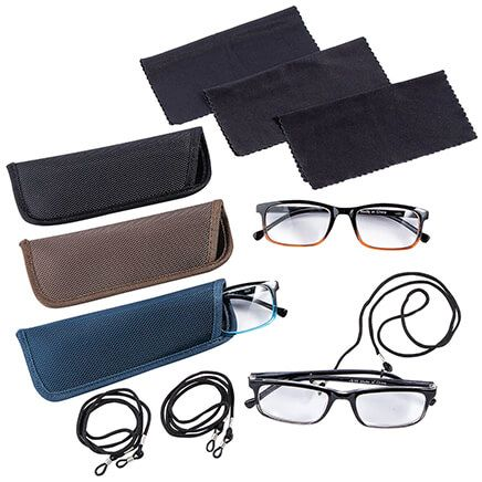 Reading Glasses & Accessory, Set of 12-368888