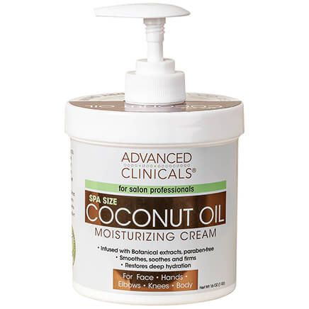 Advanced Clinicals® Coconut Oil Moisturizing Cream-368953