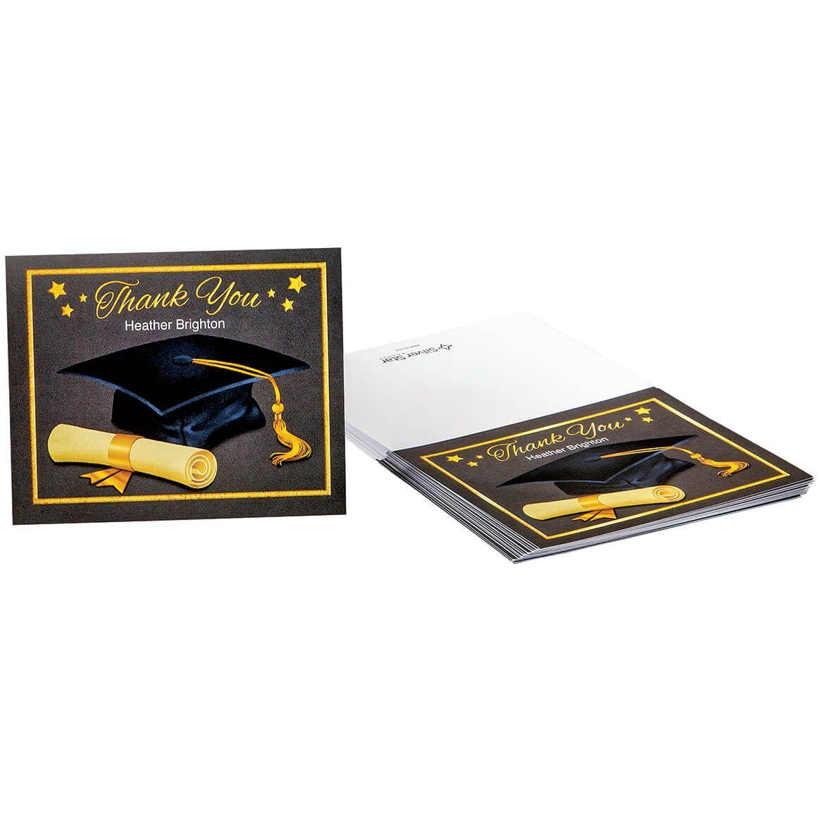 Personalized Graduation Thank You Cards Set of 20-369013