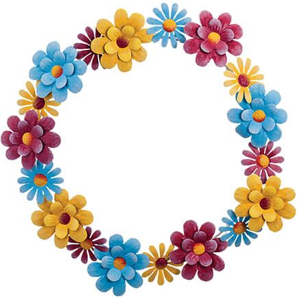 """16"""" Metal Pastel Floral Wreath by Fox River™ Creations-369043"""