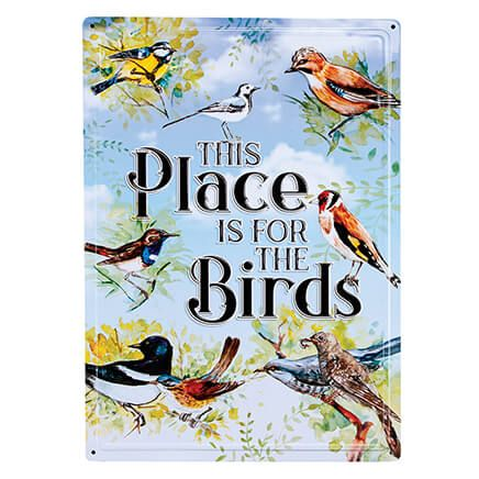 This Place is for the Birds Metal Wall Sign-369063