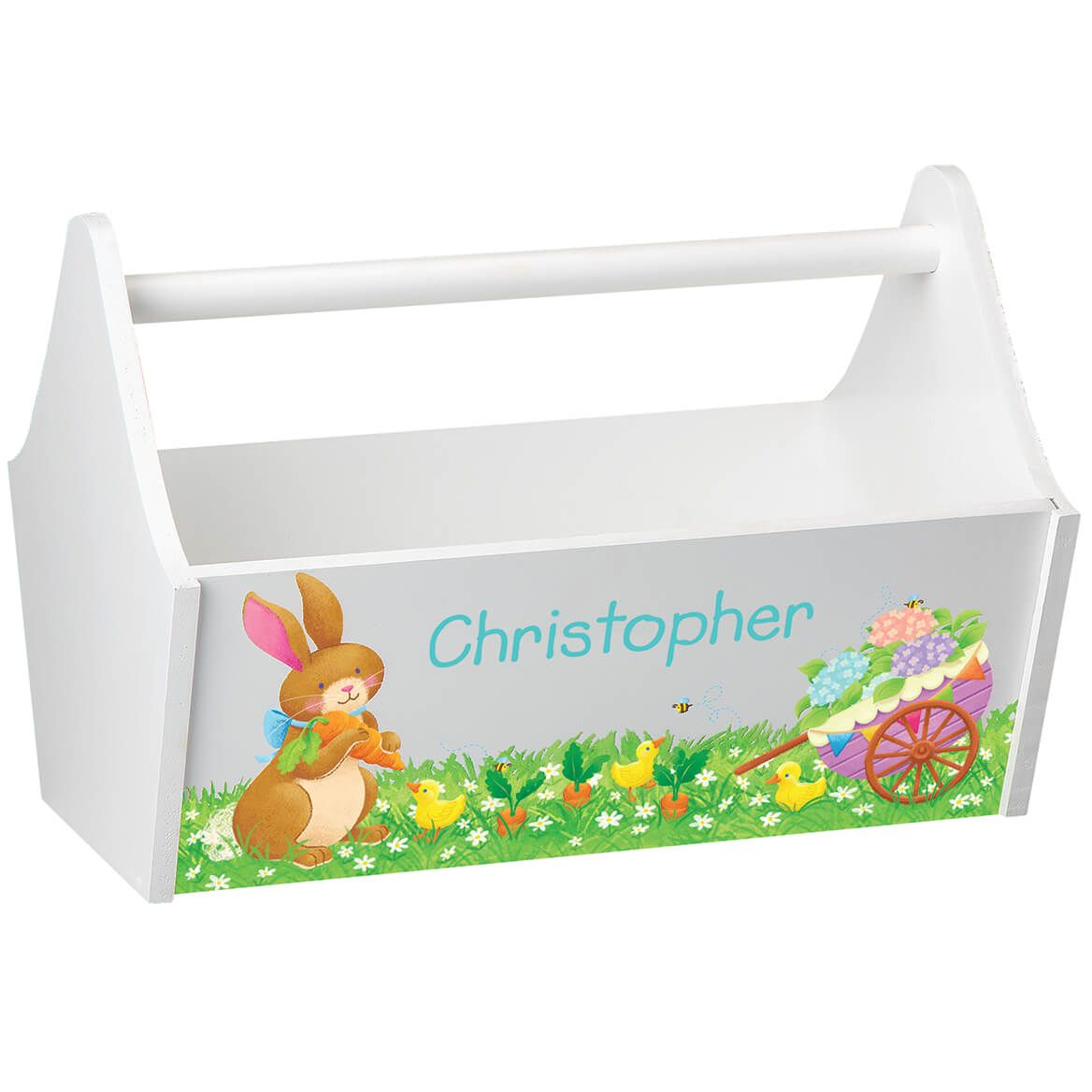Personalized Easter Toy Caddy-369135
