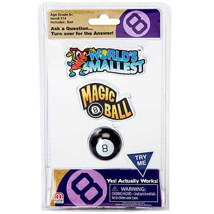World's Smallest™ Magic 8 Ball®-369182