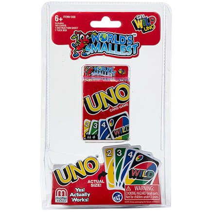 World's Smallest™ UNO® Card Game-369184
