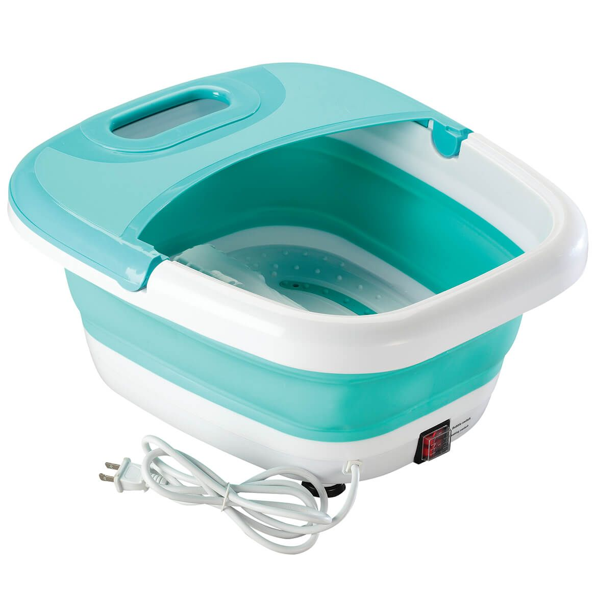 Collapsible Massaging Heated Foot Spa-369186