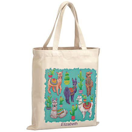 Personalized Llamas Children's Tote-369266