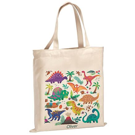 Personalized Dinosaurs Children's Tote-369268