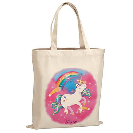 Personalized Unicorn Children's Tote-369269