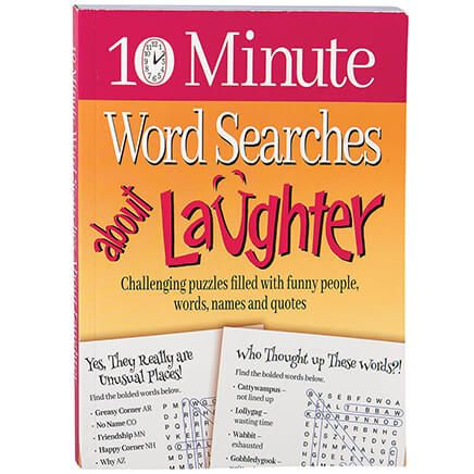 10 Minute Word Searches About Laughter-369298