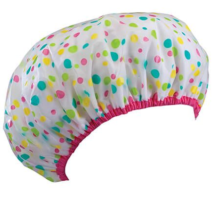 All Night Terry Lined Shower Cap-369327